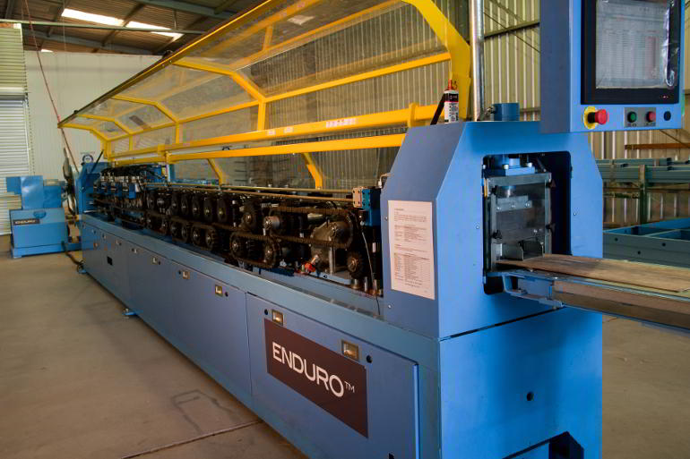 Enduro steel frame forming machine